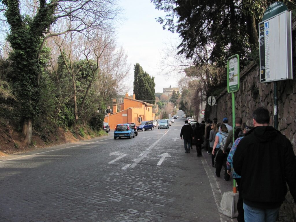 Via Appia, Rome today (Author photo)